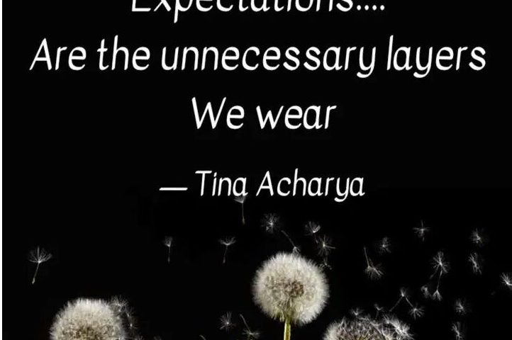 Expectations!!