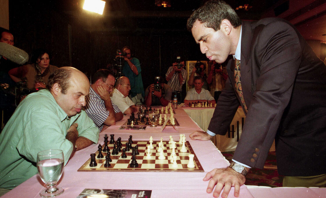 Natan Sharansky The Man Who Beat the World Chess Champion Garry Kasporov!!