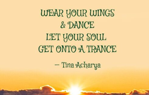 WEAR YOUR WINGS & DANCE!!!