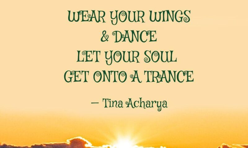 WEAR YOUR WINGS & DANCE!!!
